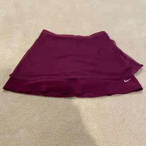 Nike purple tennis skirt (fits like a Medium)